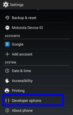 Moto_e_developer_options_enabled