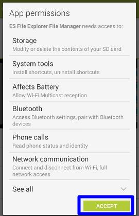 How to manage files on Moto E with ES File Explorer File