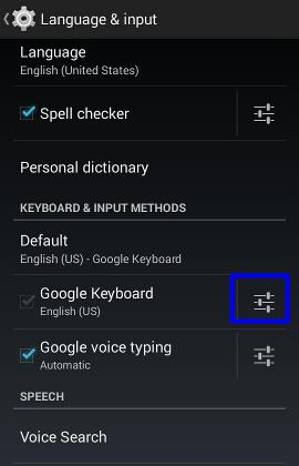 How to use Moto E keyboard? - Moto E Guide